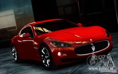 Maserati Gran Turismo S 2009 für GTA 4 Rückansicht