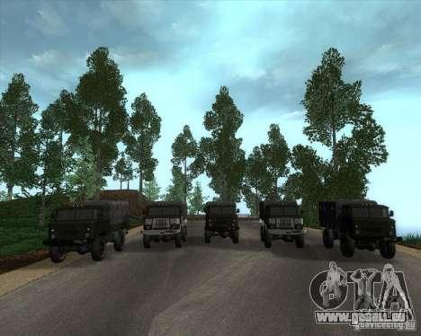 GAZ 66 Parade für GTA San Andreas