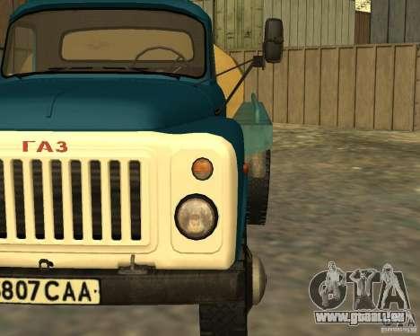 CAMION DE GAZ 53-12-3 pour GTA San Andreas vue arrière