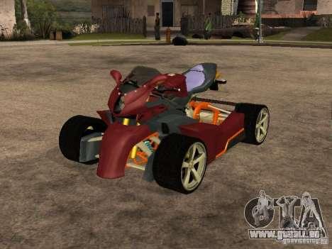 Quad MVAgusta für GTA San Andreas