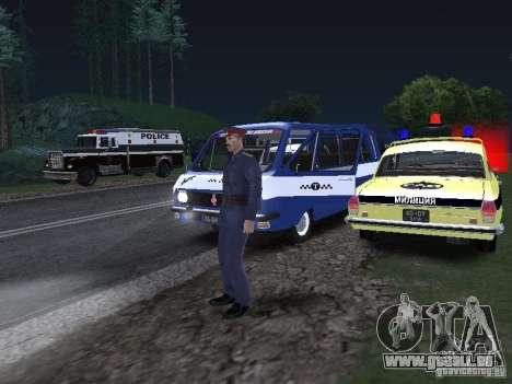Police Post pour GTA San Andreas quatrième écran