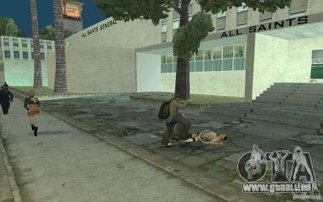 Animation von GTA IV für GTA San Andreas achten Screenshot