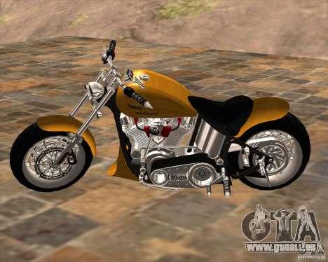 Race chopper by DMC pour GTA San Andreas laissé vue