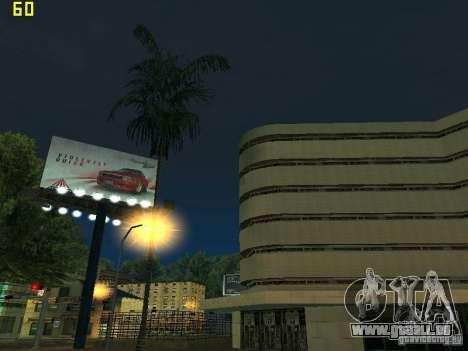 GTA SA IV Los Santos Re-Textured Ciy pour GTA San Andreas dixième écran