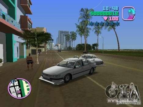 Peugeot 406 Taxi für GTA Vice City
