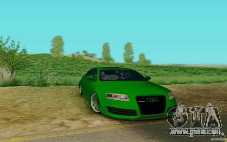 Audi RS6 OTIS pour GTA San Andreas laissé vue