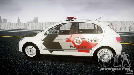 Volkswagen Gol G5 PMSP [ELS] pour GTA 4 est une gauche