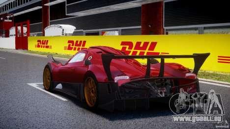 Pagani Zonda R für GTA 4 hinten links Ansicht