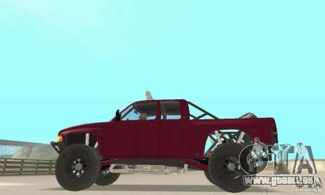 Dodge Ram Prerunner pour GTA San Andreas vue de droite