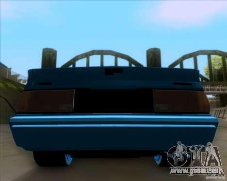 Mitsubishi Starion pour GTA San Andreas vue de côté