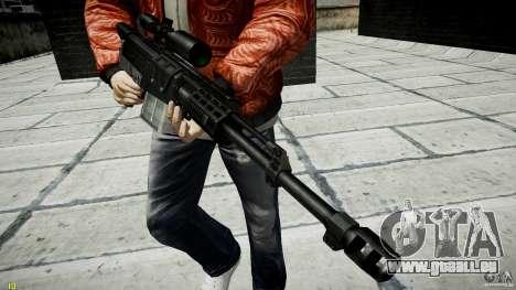 Accuracy International AS50 für GTA 4 siebten Screenshot