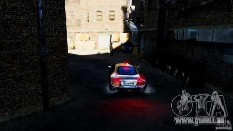 Audi R8 Spider 2011 für GTA 4 Innenansicht