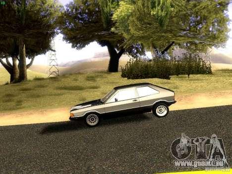 Volkswagen Scirocco Mk1 pour GTA San Andreas laissé vue