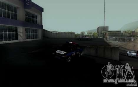 ВАЗ 2114 DPS pour GTA San Andreas sur la vue arrière gauche