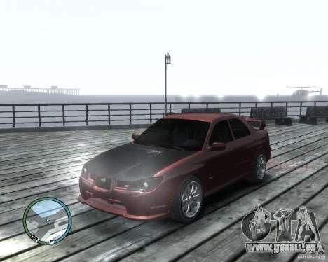 Subaru Impreza WRX STI 2006 pour GTA 4 est une gauche