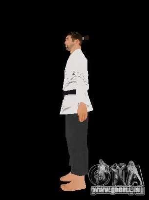 Reteksturirovannye karate für GTA San Andreas zweiten Screenshot