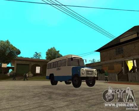 KAVZ-685 für GTA San Andreas Rückansicht