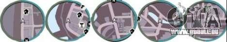 Radar von GTA IV für GTA Vice City