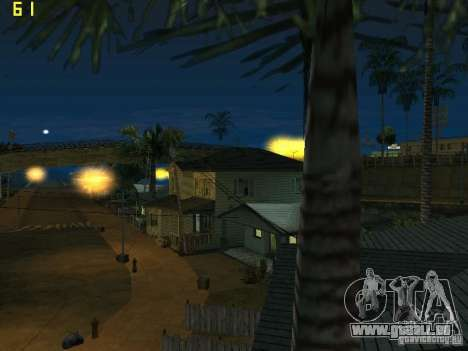 GTA SA IV Los Santos Re-Textured Ciy für GTA San Andreas sechsten Screenshot