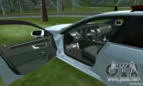 Mercedes-Benz E63 DPS für GTA San Andreas obere Ansicht