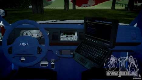 Ford Crown Victoria 2003 v.2 NOoSe für GTA 4 rechte Ansicht