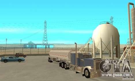 Peterbilt 379 Custom And Tanker Trailer pour GTA San Andreas