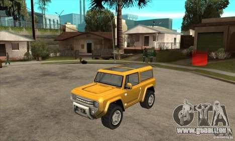 Ford Bronco Concept für GTA San Andreas