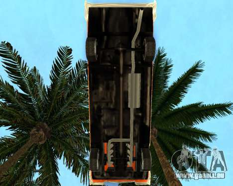 Plymouth Belvedere pour GTA San Andreas sur la vue arrière gauche