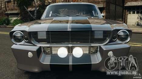 Shelby Mustang GT500 Eleanor 1967 v1.0 [EPM] für GTA 4 Innen