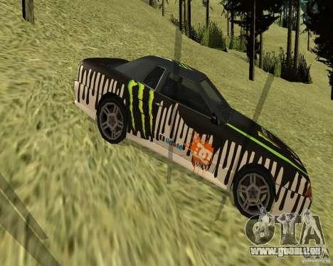 Monster Energy Vinyl pour GTA San Andreas laissé vue