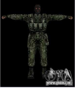 Stalker-Shadow of Chernobyl SWAT OGSE für GTA San Andreas dritten Screenshot