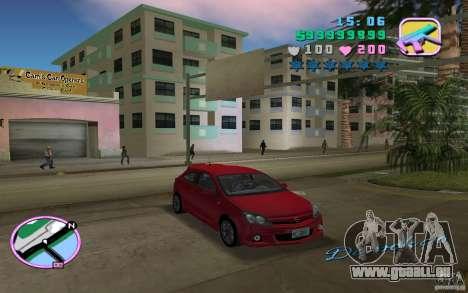 Opel Astra OPC 2006 für GTA Vice City zurück linke Ansicht