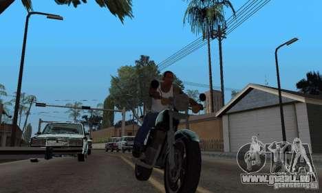 Ein starker Fahrer für GTA San Andreas