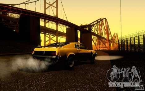 Ford Mustang Boss 302 für GTA San Andreas Innenansicht