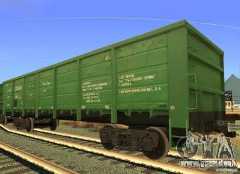 Mod de chemin de fer pour GTA San Andreas neuvième écran