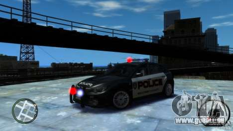 Subaru Impreza WRX STI Police pour GTA 4