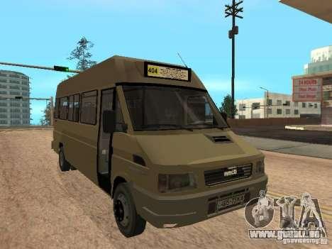 Iveco Turbo Daily pour GTA San Andreas laissé vue