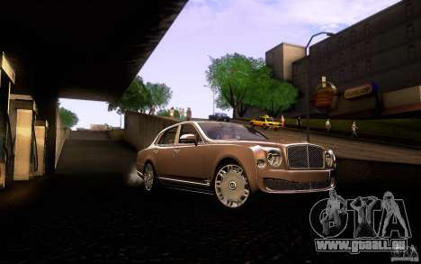 Bentley Mulsanne 2010 v1.0 pour GTA San Andreas vue de côté