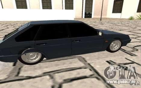 VAZ 2109 c. 2 pour GTA San Andreas laissé vue