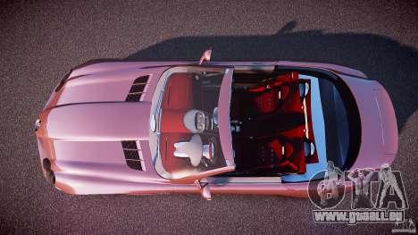 Mercedes Benz SLR McLaren 722s 2005 [EPM] pour GTA 4 est un droit