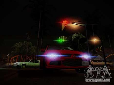 Die Blendung durch das Licht für GTA San Andreas