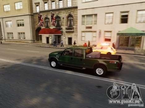 Ford F-250 FX4 2009 pour GTA 4 est un côté