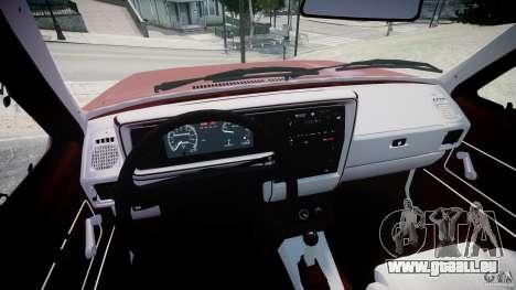 Volkswagen Rabbit 1986 pour GTA 4 Vue arrière