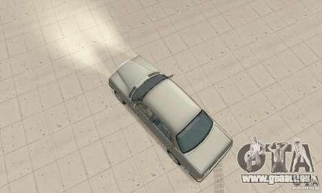 Mercedes-Benz 230 W123 pour GTA San Andreas sur la vue arrière gauche