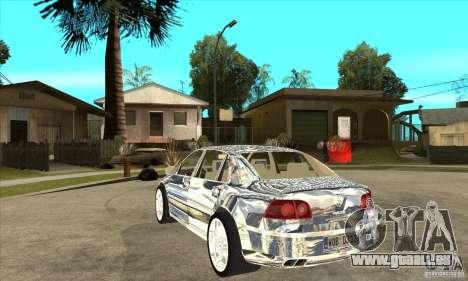 VW Phaeton verchromt für GTA San Andreas zurück linke Ansicht