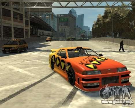 Elegy Tuning für GTA 4 linke Ansicht