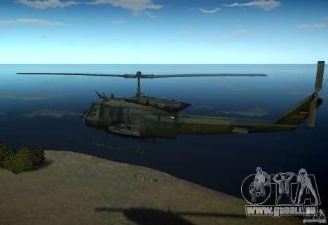 Bell UH-1D German Bundeswehr für GTA 4 linke Ansicht