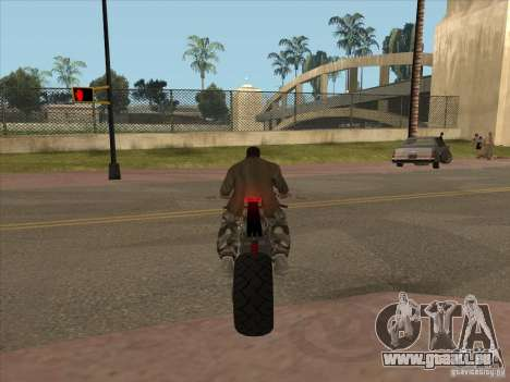 TLaD Double T Custom für GTA San Andreas Rückansicht