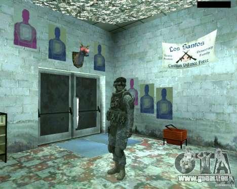 Haut Infanterist CoD MW 2 für GTA San Andreas