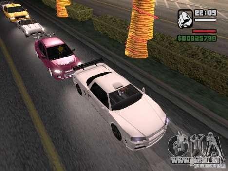 Infernus - beta - v.1 pour GTA San Andreas laissé vue